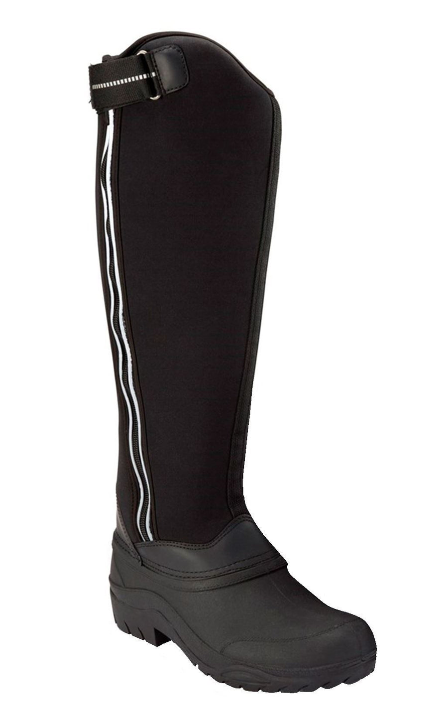 White Horse Equestrian Neo Vis Boots Black
