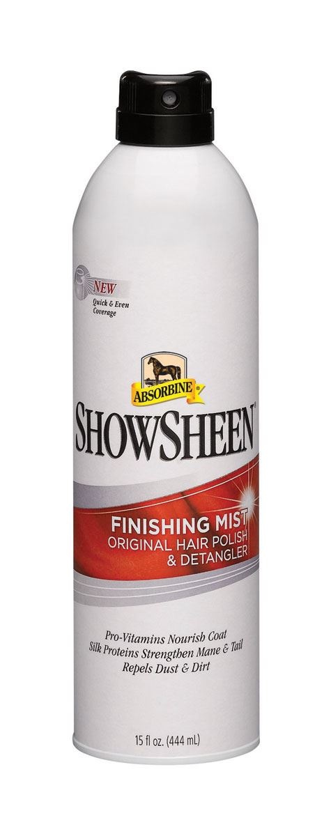 Absorbine Showsheen Finishing Mist White