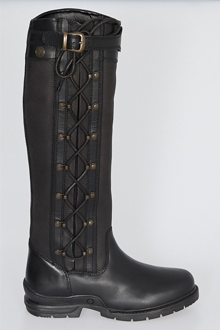 Bow & Arrow Kingston Country Boots BLACK
