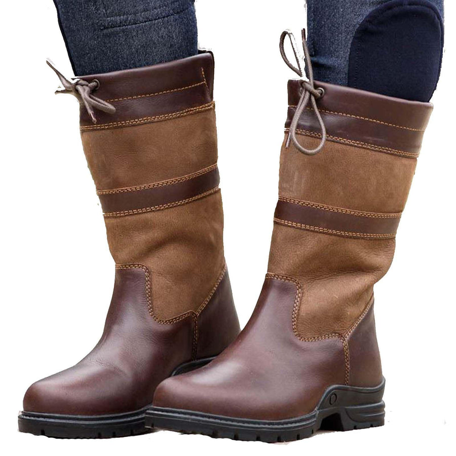 Bow & Arrow Bramham Country Boot Brown