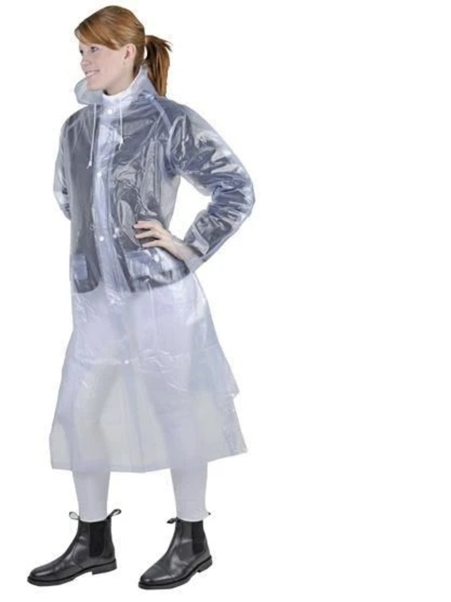 HKM Junior Long Rain Mac Transparent
