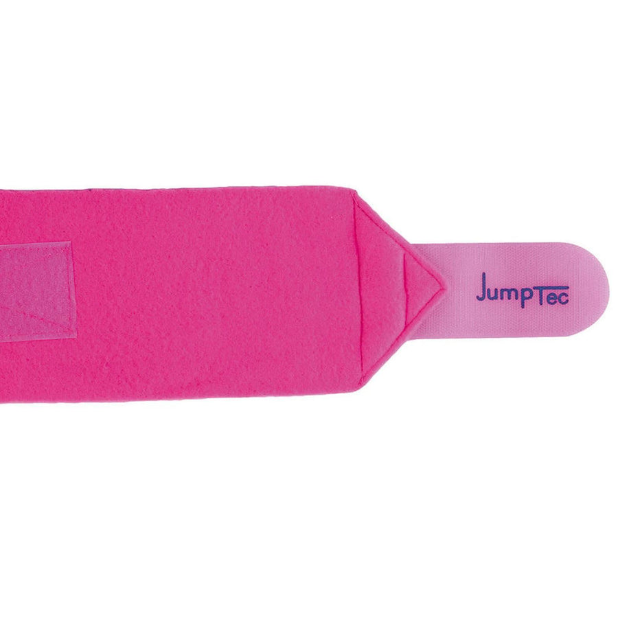 Jumptec Double Sided Polo Bandages Set of Four Fuchsia Pink