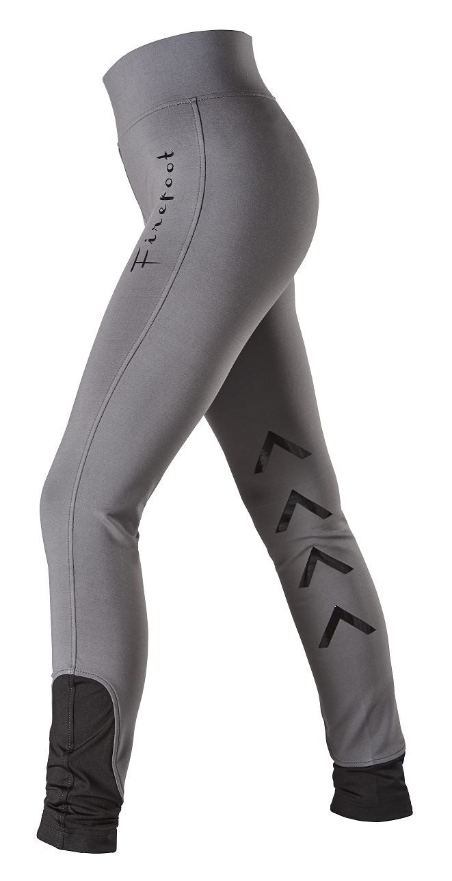 FireFoot Ladies Ripon Stretch Breeches Grey.Black