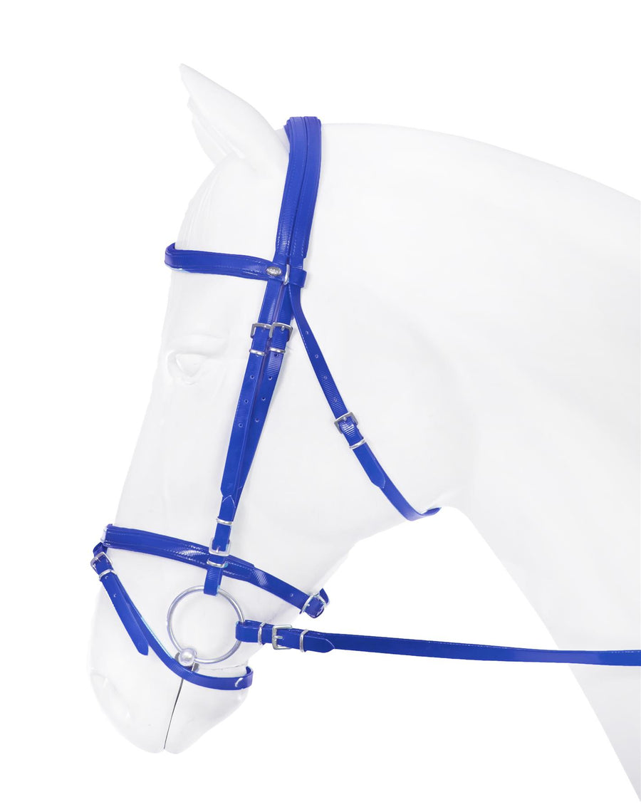Horka Flashy Synthetic Bridles Blue