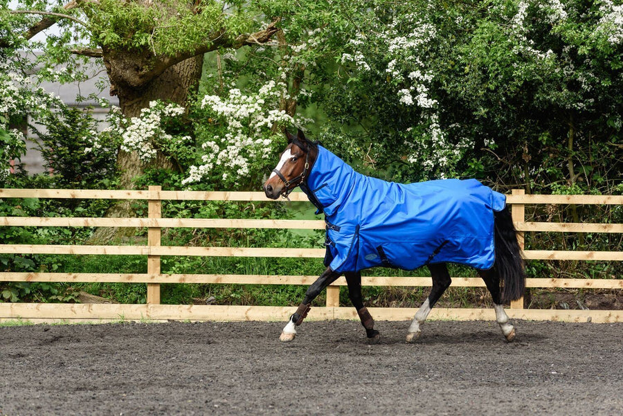 Best on Horse 180915 Heavyweight Rug Cobalt Blue