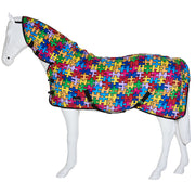 Best on Horse Print Rug Puzzle Stripe