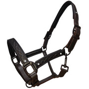 White Horse Equestrian Rhiana Leather Headcollar Brown
