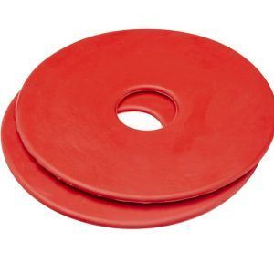 Cottage Craft Bit Guards Pair Red
