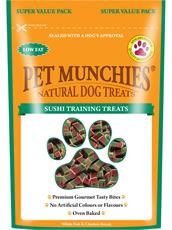 Pet Munchies Training Treats Sushi