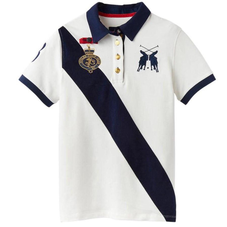 Joules Claredon Polo Shirt White