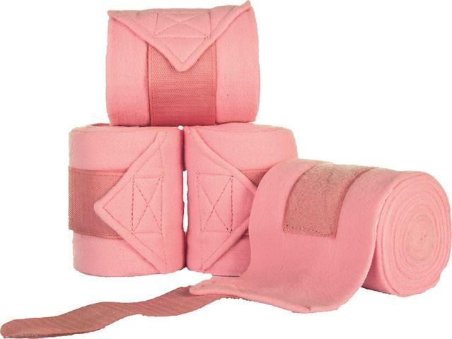 HKM Polar Fleece Bandages Pink