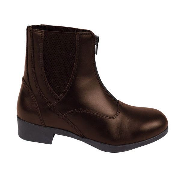 Joy Rider Adi Leather Jodhpur Boot Brown Brown