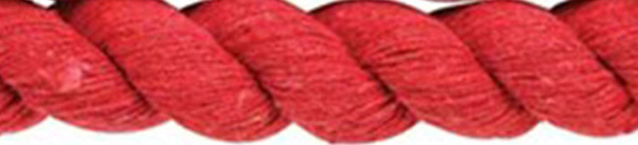 R90 Cottage Craft Cotton Lead Rope Red