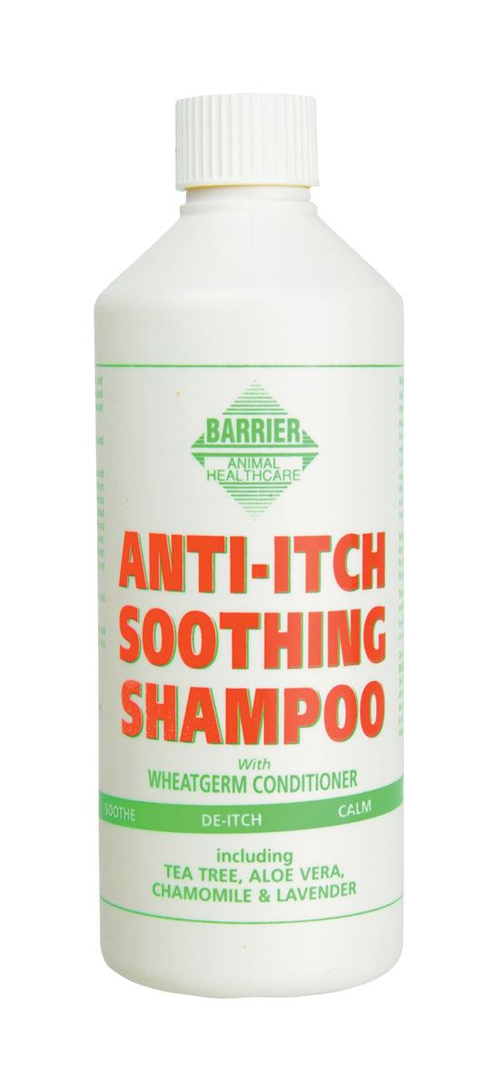 Barrier Anti-Itch Soothing Shampoo White
