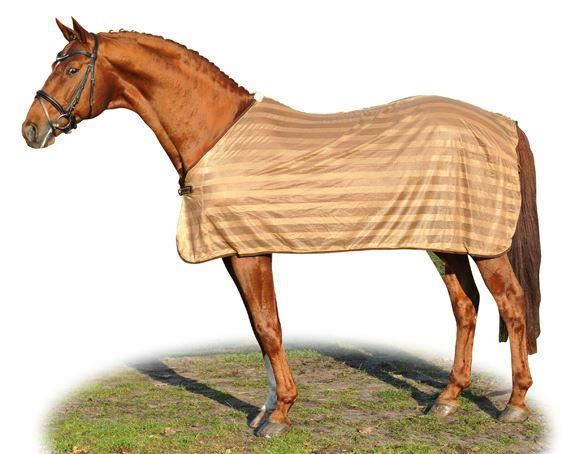 Hkm Anti Fly Sheet Blankets Brown
