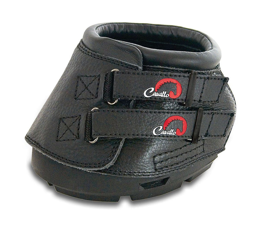 Cavallo Simple Boot With Hoof Pick Black