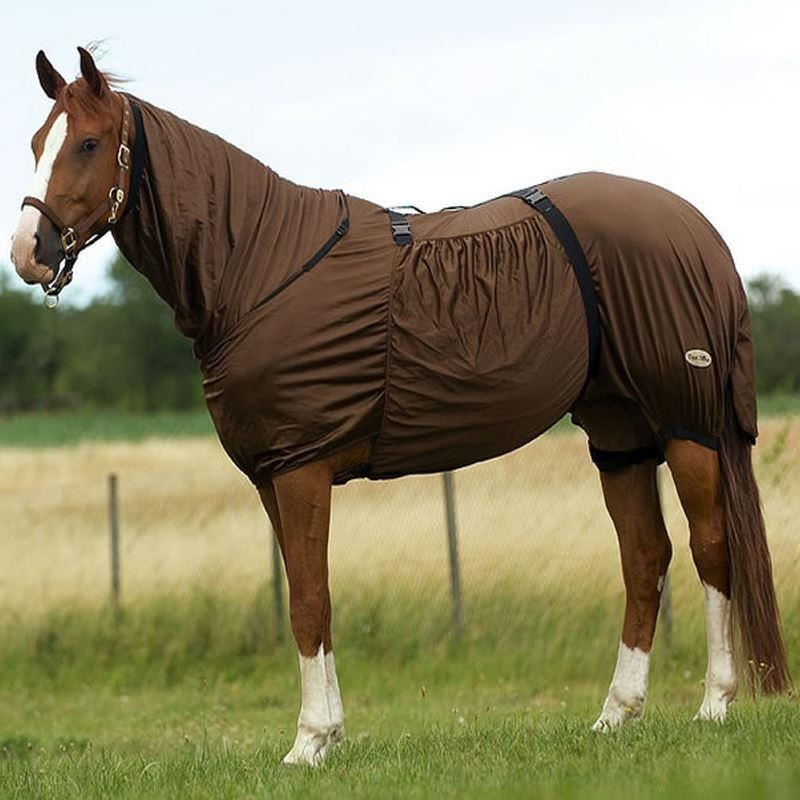 Equi-Theme Sweet Itch Sheet Brown
