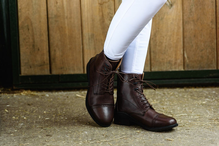 Bow And Arrow Drayton Laced Jodhpur Boot Brown