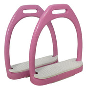 Best on Horse Aluminium Stirrups Pink