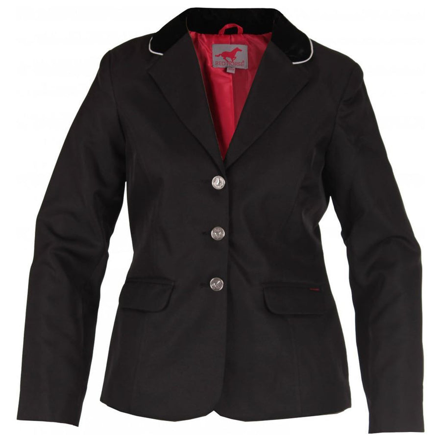 Red Horse Ladies 'Concours' Competition Jackets Black