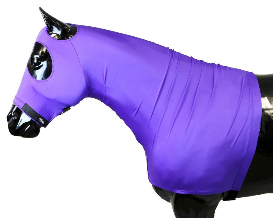 Shires Horse Stretch Hood Pink