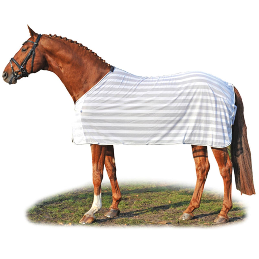 Hkm Anti Fly Sheet Blankets White Blue