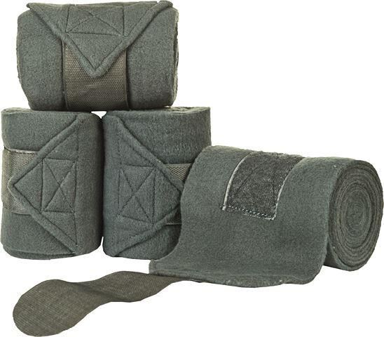 HKM Polar Fleece Bandages Anthracite