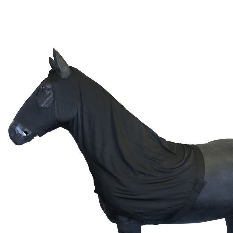 Best On Horse Stormford Lycra Hood Black