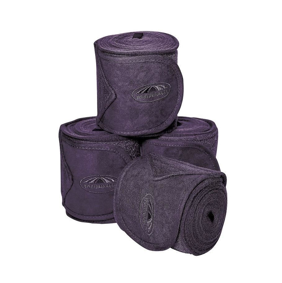 Weatherbeeta Fleece Bandages 4 Pack Purple