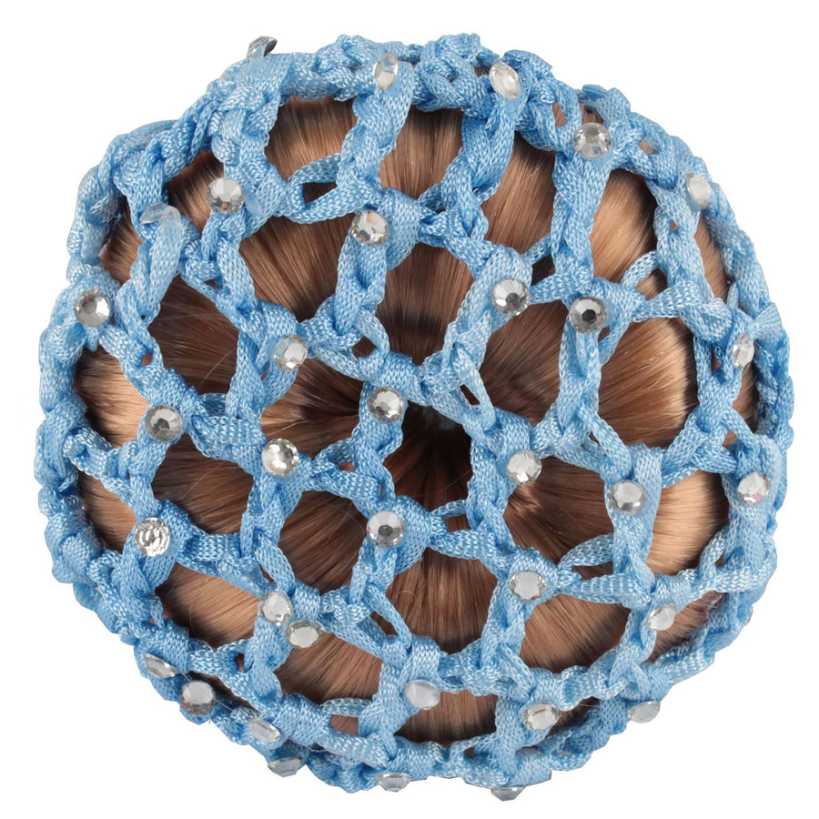 Horka 'Knot Net Strass' Competition Accessories Light Blue