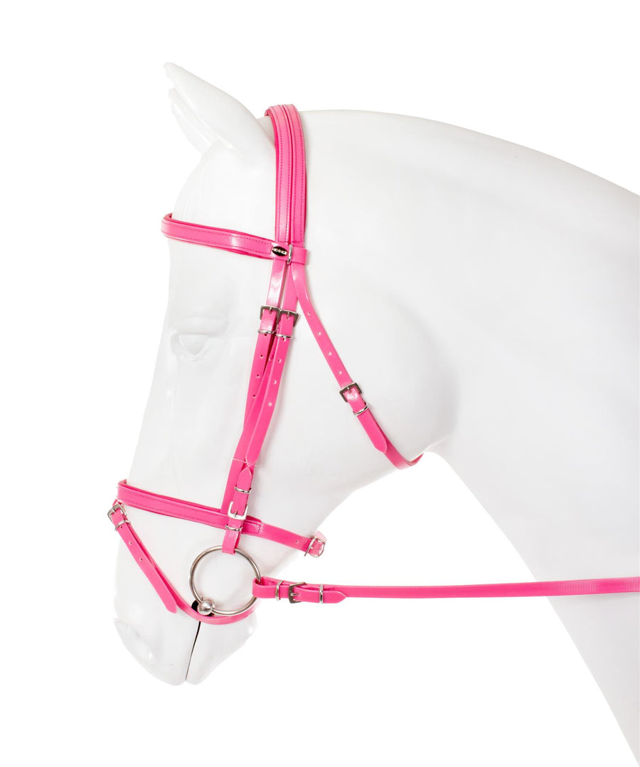 Horka Flashy Synthetic Bridles Pink