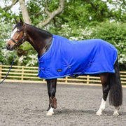 White Horse Equestrian Dash Fleece Rug Blue