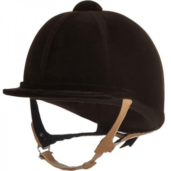 Charles Owen 'Showjumper XP' Helmet Brown