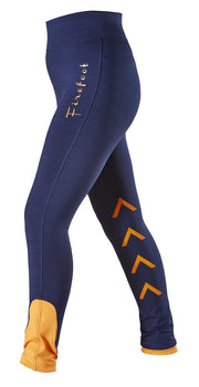 FireFoot Ladies Ripon Stretch Breeches Navy and Orange