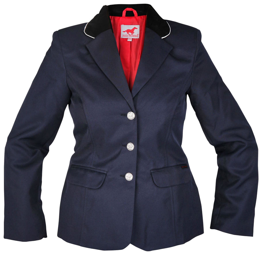 Red Horse Ladies 'Concours' Competition Jackets Blue