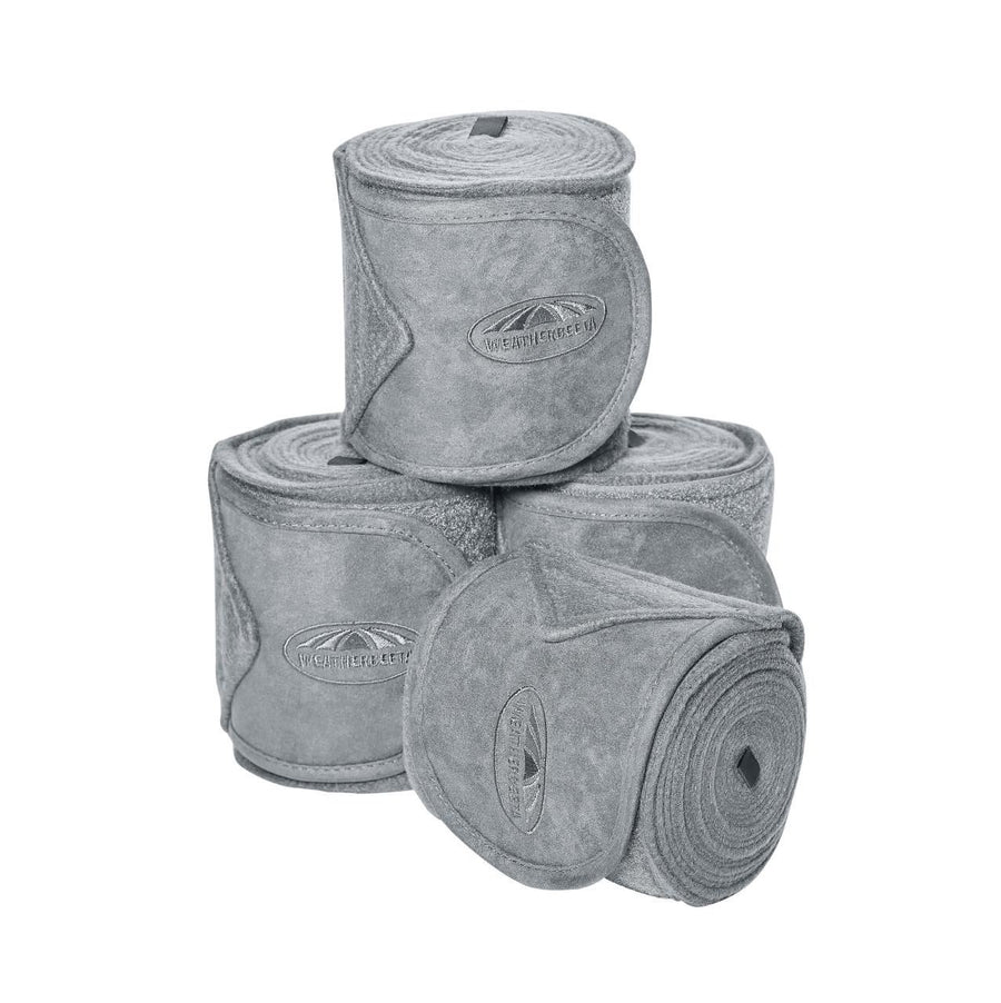 Weatherbeeta Fleece Bandages 4 Pack Grey
