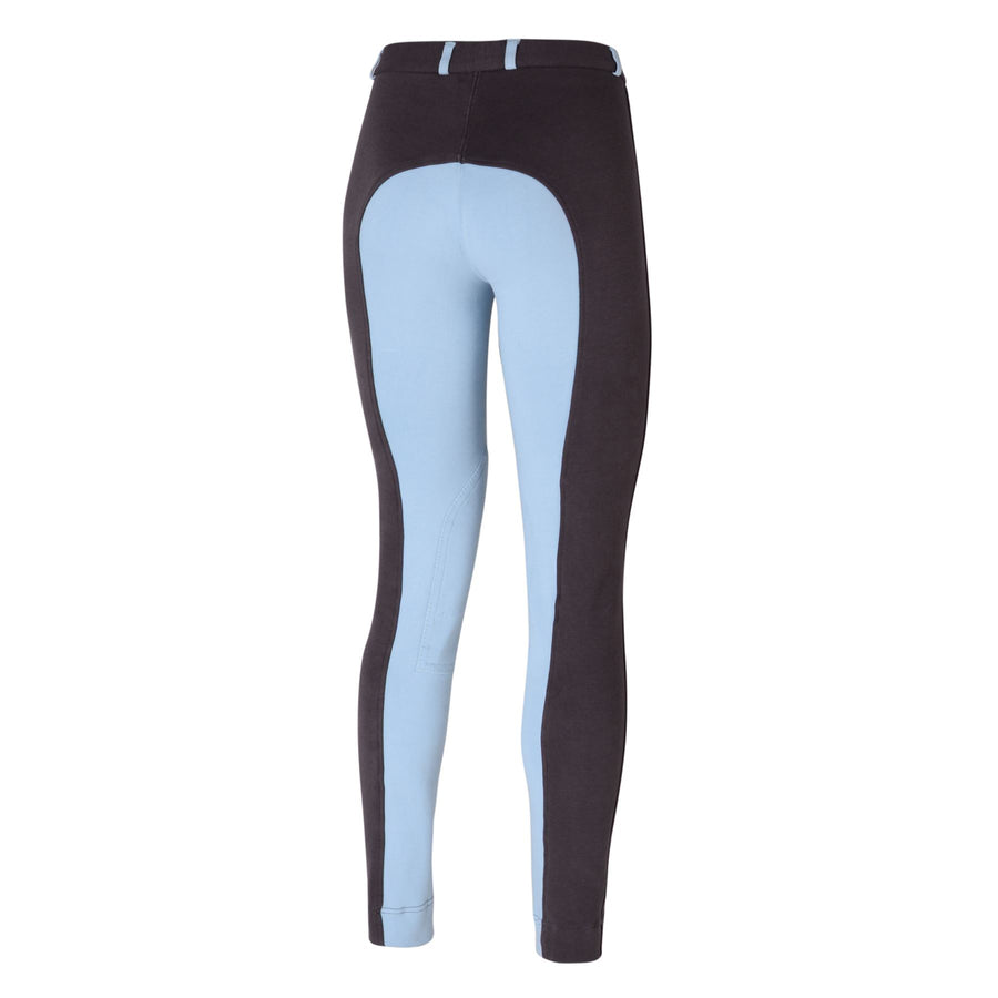 Bow & Arrow Day Breeches Charcoal/Sky