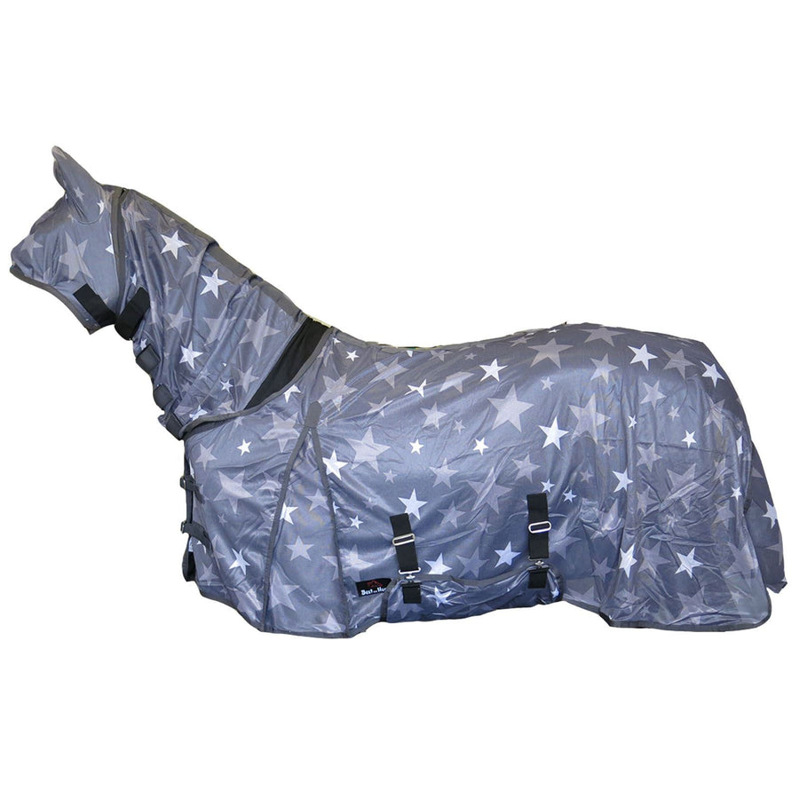 BOH Stars Fly Rug Grey