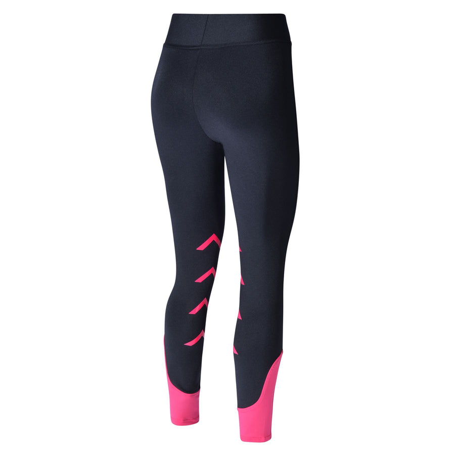 Bow And Arrow Tabah Kids Riding Leggings Black/Pink