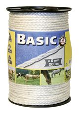 Basic Fencing Rope c/w S/Steel Wires x 200m
