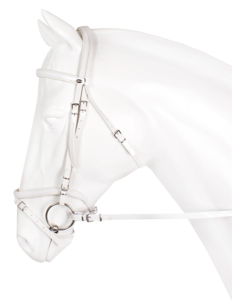 Horka Flashy Synthetic Bridles White