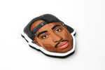 Tupac Fridge Magnet
