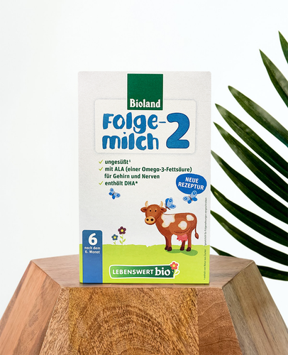 Lebenswert Folgemilch Stage 2 Organic Follow-On Infant Milk Formula