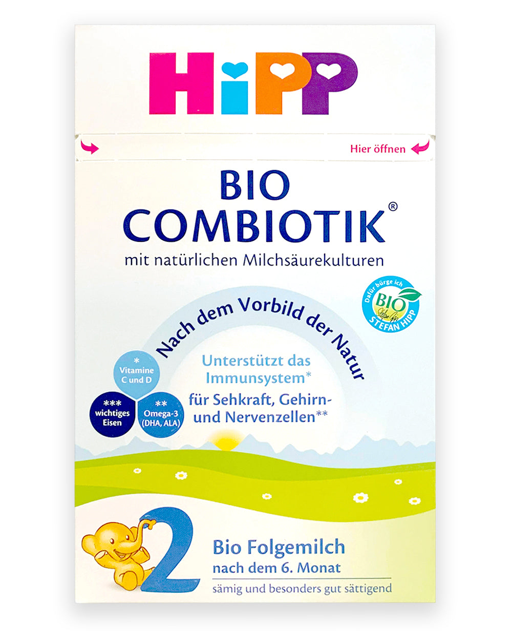 HiPP German Stage 2 Combiotic Follow-on Infant Milk Formula, Dented