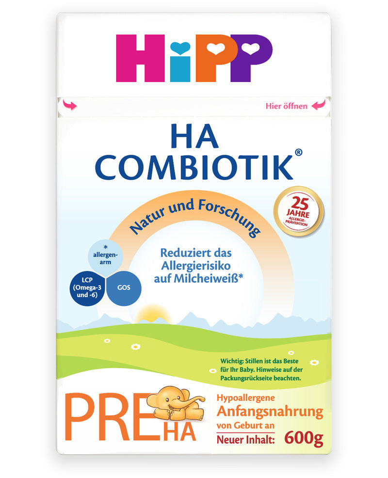 HiPP HA Germany Hypoallergenic Stage PRE Combiotic Infant Milk Formula, Dented