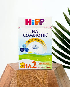HiPP HA Germany Hypoallergenic Stage 2 (6+ months) Combiotic Follow-On Infant Milk Formula - 600g