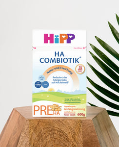 HiPP HA Germany Hypoallergenic Stage PRE (0-6 months) Combiotic Infant Milk Formula - 600g