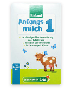Lebenswert Anfangsmilch Stage 1 (0-6 months) Organic Infant Milk Formula - 500g