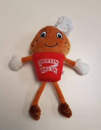 Muffin Man Soft Toy