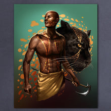 Load image into Gallery viewer, A Warrior and his Panther